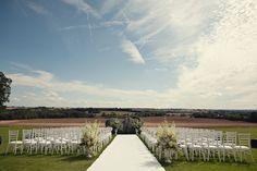 Beautiful wedding at England's Aynhoe Park, photos by Marianne Taylor | via junebugweddings.com