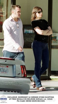 Morrissey and Chrissie Hynde on Rodeo Drive!