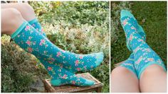 Gorgeous patterned socks - Smila Roses | Designbeispiele | Teil 1 - Smila´s World | Blog
