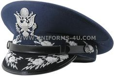This is the exact authentic hat of the Air Force chief of Staff! Only one person in the world wears this hat!The Chief of Staff of the United States Air Force serves as the senior uniformed Air Force officer respo Air Force Uniforms, Staff Uniforms, Military Uniforms, Chief Of Naval Operations, Army Ranks, Peaked Cap, Silver Bullion, Chief Of Staff, Us Air Force