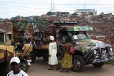 Bere, Ibadan, walkabout with a bedford
