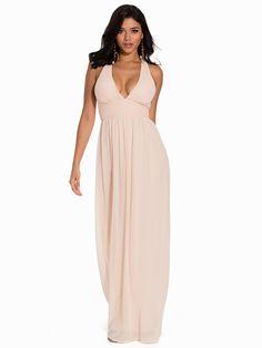 Nelly.com: Empire Cross Back Dress - NLY Eve - vrouw - Peach. Iedere dag nieuwe artikelen. Meer dan 800 merken. Oneindig veel variatie.