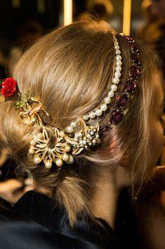 Dolce & Gabbana Fall/Winter 2015. Milan.