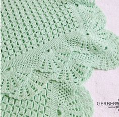 "crochet baby afghan ""Items similar to Olive Baby afghan crochet - baby blanket - soft green color for baby cotton MADE TO ORDER on Etsy"", ""crochet baby Crochet Afgans, Baby Afghan Crochet, Love Crochet, Crochet Hooks, Knit Crochet, Baby Patterns, Knitting Patterns, Crochet Borders, Crochet Motif"