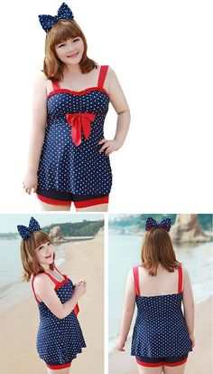 Kneeboards 159163: [Cute] Fashion Swimsuits Two Piece Plus Size Swimwear Beach Clothing BUY IT NOW ONLY: $41.52