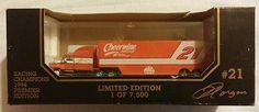 1994-Nascar-21-Die-Cast-Transporter-Truck-Man-Cave-Freightliner-DadGift-Garage