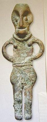 Det første stykke Danefæ der blev fundet i Danmark med metaldetektor var Gudinden fra Værebro.