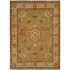 Found it at Wayfair - Dumka Hand-Knotted Earth Tones Area Rug