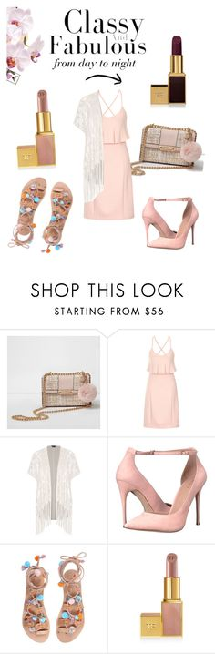 """Everything is better in pink"" by dulce-mc ❤ liked on Polyvore featuring River Island, Lavish Alice, City Chic, ALDO, David Jones, Tom Ford and plus size clothing"