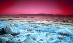Photo about Sunrise over the dead sea with waves in motion blur. Image of contemplation, coast, medicine - 5459856 Jordan Dead Sea, Dead Sea Cosmetics, Culture Shock, Beautiful Places In The World, Best Cities, Beautiful Sunset, Travel Around The World, Montana, Cool Pictures