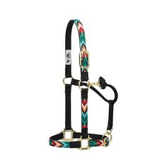 Weaver Nylon Adjustable Chin and Throat Snap Horse Halter   The Cheshire Horse