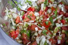 Pico de Gallo  by Angela Liddon  Prep Time: 15 mins  Cook Time: 0 mins  Keywords: raw no bake appetizer snack spread/sauces vegetarian vegan sugar-free soy-free low-carb nut-free gluten-free low-sodium