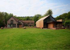 Moderne huizen van Hall + Bednarczyk Architects