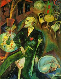 The German painters George Grosz and Otto Dix interpeted life in Weimar-era Berlin. Bob Fosse and his team drew on their work as visual inspiration for the look of Cabaret, especially the interiors of the Kit-Kat Klub and the boarding house. Art And Illustration, Art Dégénéré, George Grosz, Max Beckmann, Degenerate Art, New Objectivity, A Level Art, Cabaret, Art History