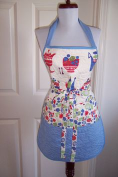 Apron Pattern Reversible Easy 430P by quiltpatternsandmore on Etsy, $9.00