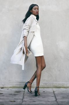 Trench & winter whites