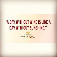 #wine #stellarosa #sunshine