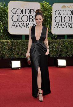 Golden Globe Celebrity Fashion 2013 - Katherine McPhee