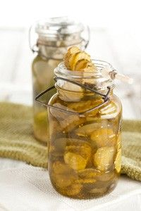 Icebox Bread and Butter Pickles