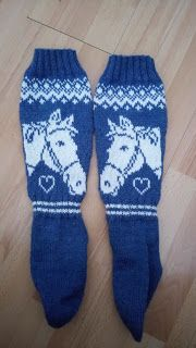 Ninalandian tilannekatsaus: Hevossukat Projects To Try, Gloves, Diagram, Knitting, Winter, Fashion, Stockings, Winter Time, Moda