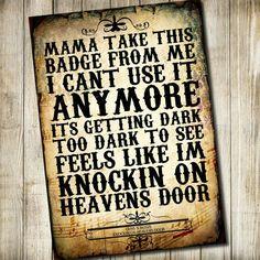 Knock, knock, knocking on Heavens Door ❤ G n R