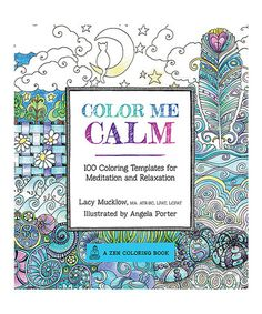 Look at this #zulilyfind! Color Me Calm Coloring Book #zulilyfinds