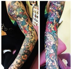 Disney sleeve