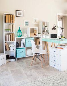 Colores que inspiran paz. ¡Encontrá nuevas ideas! #Ambientes #Rústico #Office