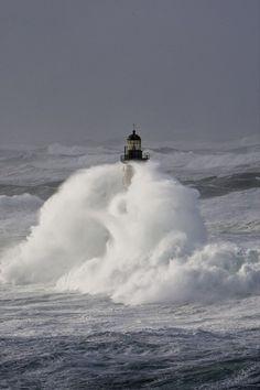 Rough seas::