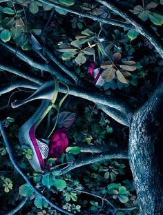A place where shoes grow like flowers on trees... (Peter Lippmann)