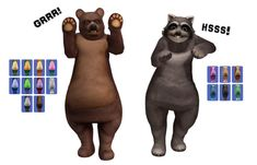 THIS IS FOR SIMS AF and AM Park Ranger tops, plus hat. Raccoon Costume, Bear Costume, The Sims, Sims Cc, Rangers Top, Three Lakes, The Royal Tenenbaums, Women's Plus Size Swimwear, Disney Films