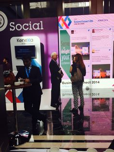 KeneXa booth and Click2Social platform to engage in social conversations during IBM event in Istanbul (Solution by LuckyEye.com) @SocialBizTR