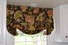 diy valance...have used this pattern many times...so easy & looks great!