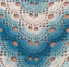 Virus shawl crochet shawl crochet wrap prayer shawl crochet fling shoulder wrap ready to ship Prayer Shawl, Crochet Shawl, Hand Crochet, Chrochet, My Baby Girl, Blue Baby Blanket, Ombre Yarn, Latex Free, Crochet Projects