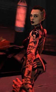 Click to join Mass Effect fandom on thefandome.com #masseffect #game #fantasy #fandom #thefandome Arte Cyberpunk, Cyberpunk 2077, Mass Effect Jack, Mass Effect Characters, Adventure Time Girls, Mass Effect Universe, Futuristic Motorcycle, Fantasy, Anime Art Girl