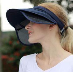 bd372fa5d5ed4 Summer sun visor hat for women uv protection effect hast