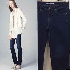 "J brand jeans J brand curvy cigarette jeans size 29 $189 inseam 30"" pre loved no damages J Brand Jeans Straight Leg"