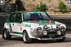 Rally Car, Alfa Romeo, Fiat, Cars And Motorcycles, Classic Cars, Automobile, Garage, Muscle, Retro