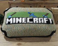 Crochet Graph Gaming Pillow
