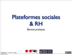 rseaux-sociaux-professionnels-et-rh by Claude Super via Slideshare