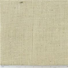 """Oyster Burlap is 48"""" wide and 100% jute.    CARE INSTRUCTIONS - Machine Wash; Warm; Tumble Dry; Remove Promptly.    Available in 1-yard increments. Average bolt size is approximately 15 yards. Price displayed is for 1-yard. Enter the total number of yards you want to order."""