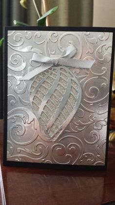 Embellished Ornament Card by jcrocker - Cards and Paper Crafts at Splitcoaststampers - SU - Christmas