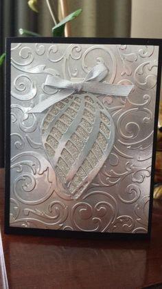 Embellished Ornament Card by jcrocker - Cards and Paper Crafts at Splitcoaststampers