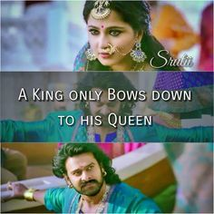 This scene from the movie is one of my favorite....Bahubali is just perfectttt