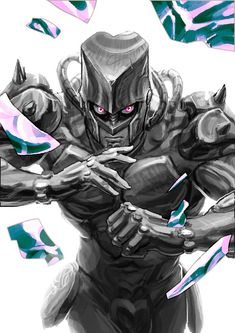 Manga Anime, Fanarts Anime, Anime Art, Jojo's Bizarre Adventure Stands, Jojo's Bizarre Adventure Anime, Jojo Stands, Johnny Joestar, Character Art, Character Design