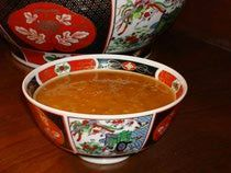 """Yum! zesty harira recipe - """"Morocco's famous tomato and lentil soup. It's fragrantly seasoned with ginger, pepper, and cinnamon, and also boasts a robust quantity of fresh herbs: cilantro, parsley, celery and onion."""""""