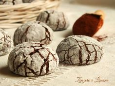 chocolate crinkles - dettaglio