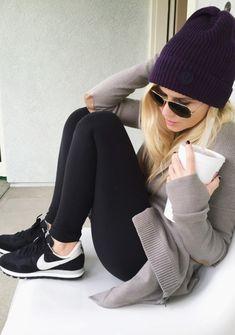 Weekend- Lululemon Wrap Sweater/Beanie