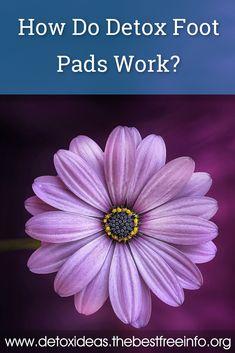 How do Detox Foot Pads work? Body Detox Cleanse, Full Body Detox, Liver Detox, Natural Body Detox, Natural Detox Drinks, Home Detox, Fat Burning Detox Drinks, Detox Tips, Detox Plan