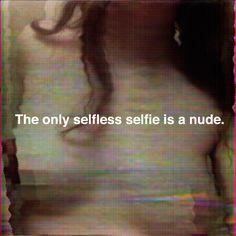 »selfless selfie« by zach urbina (+)